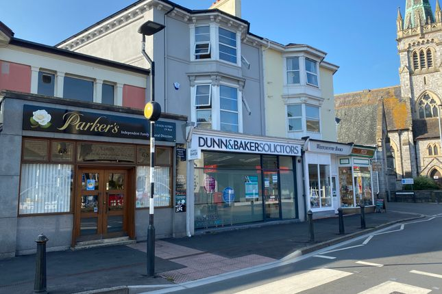 Thumbnail Retail premises for sale in Queen Street, Newton Abbot