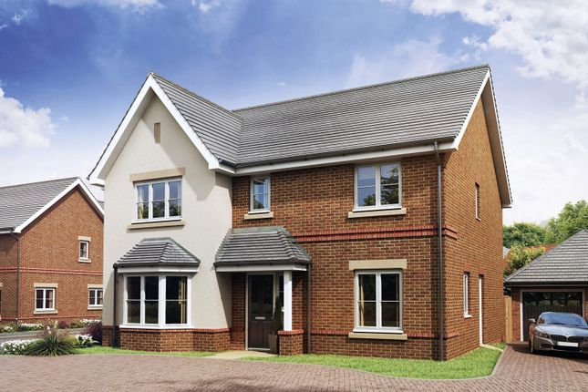 Thumbnail Detached house for sale in Hawkswood, Mill Lane, Calcot, Reading