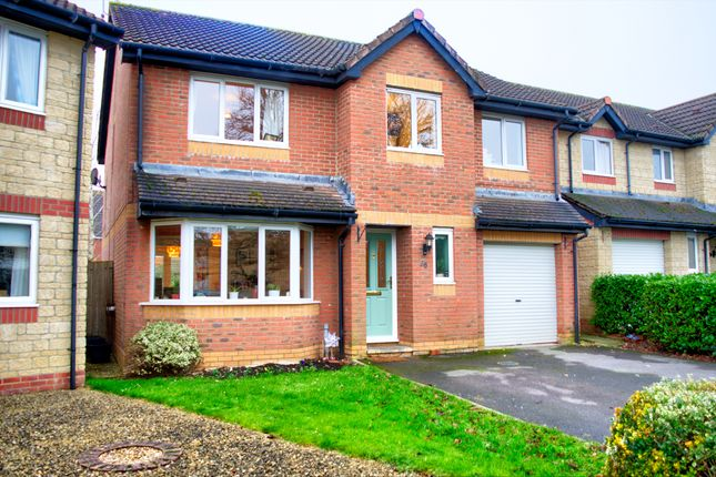 Thumbnail Detached house for sale in Drake Crescent, Chippenham