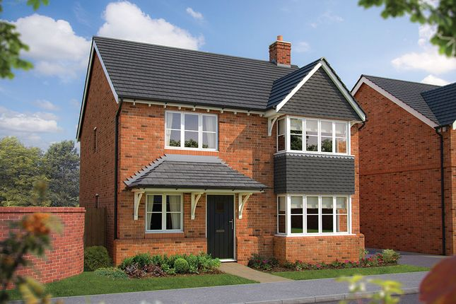 "Thumbnail Detached house for sale in ""The Canterbury"" at The Poppies, Meadow Lane, Moulton, Northwich"