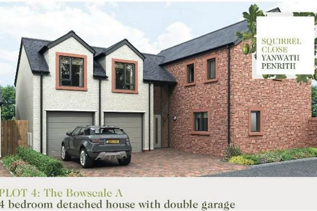 Thumbnail Detached house for sale in Plot 4 Squirrel Close, Yanwath, Penrith