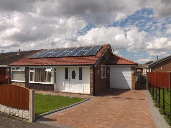 Thumbnail Bungalow for sale in Winfrith Road, Fearnhead, Warrington, Cheshire