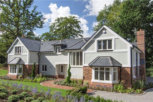 Thumbnail Detached house for sale in Jubilee Road, Finchampstead, Wokingham