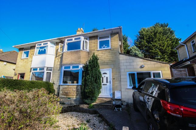 Thumbnail Semi-detached house for sale in Ivy Avenue, Oldfield Park, Bath