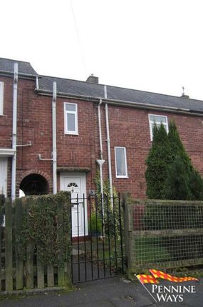Thumbnail Terraced house for sale in Fell View, Haltwhistle, Northumberland