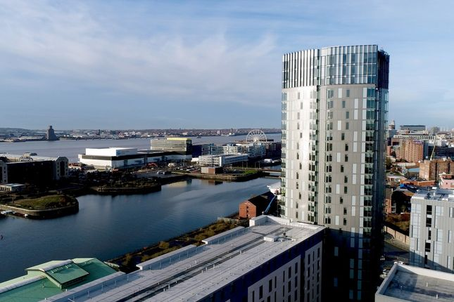 Studio for sale in X1 The Tower, 19 Plaza Boulevard, Liverpool L8