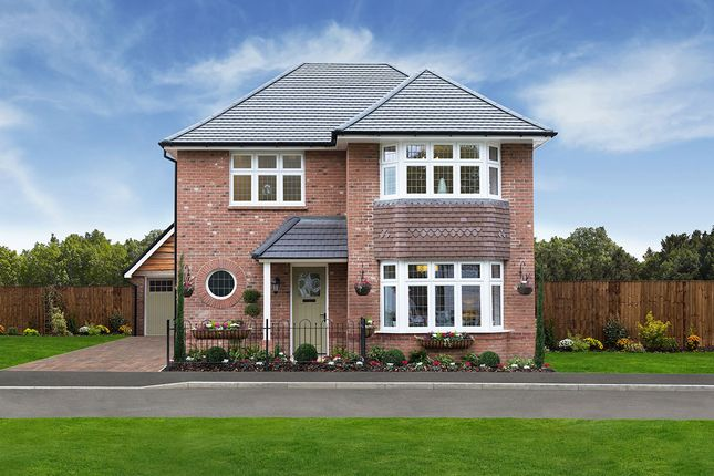 "Thumbnail Detached house for sale in ""Leamington"" at The Terrace, Sudbrook, Caldicot"