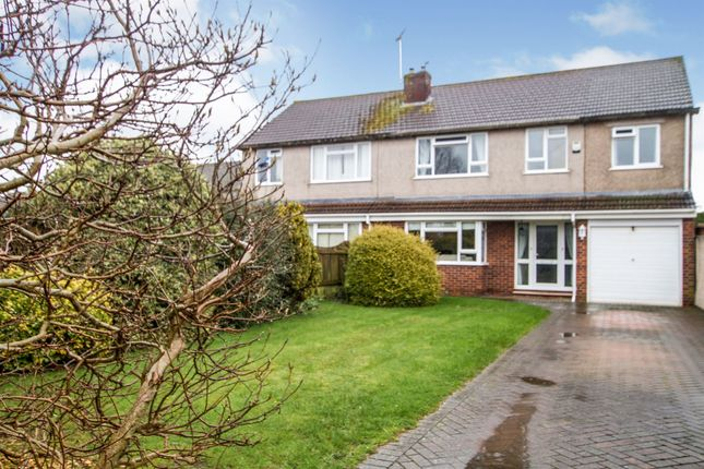 Thumbnail Semi-detached house for sale in Westland Avenue, Oldland Common, Bristol