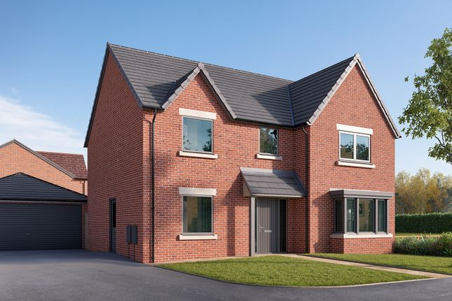 """Thumbnail Detached house for sale in """"The Cottingham"""" at Cautley Drive, Killinghall, Harrogate"""