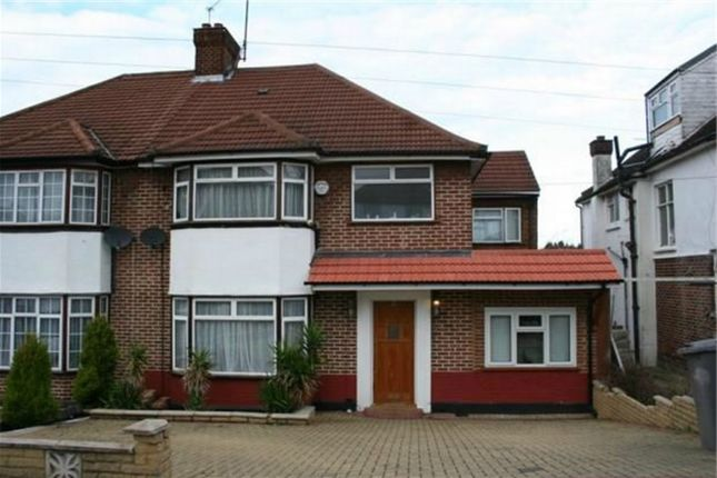 Thumbnail Semi-detached house to rent in West Hill, Wembley
