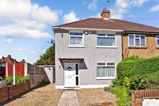Thumbnail Semi-detached house for sale in Plumpton Avenue, Hornchurch, Essex