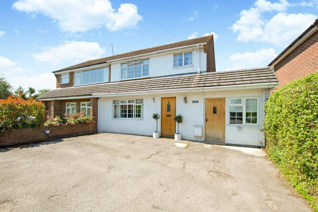 Thumbnail Semi-detached house for sale in Stewart Close, Fifield, Maidenhead