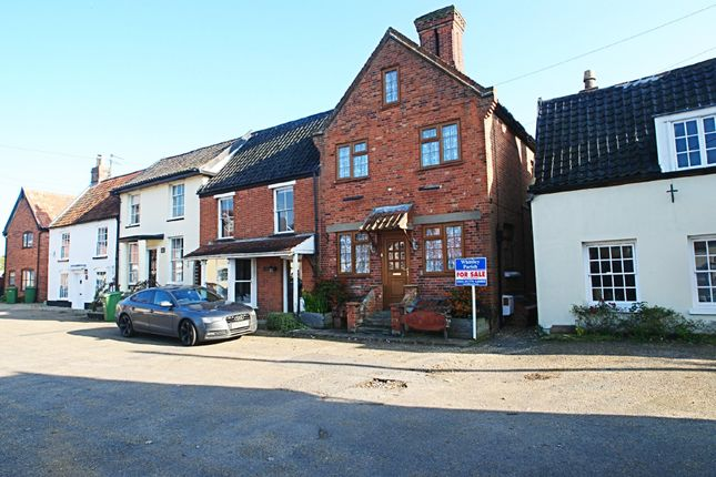Thumbnail End terrace house for sale in Market Street, East Harling, Norwich
