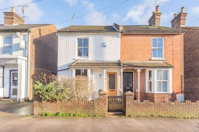 Thumbnail Semi-detached house for sale in Barrington Road, Horsham, West Sussex