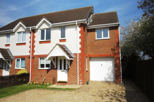 Thumbnail Semi-detached house to rent in Ison Close, Cranwell Village, Sleaford