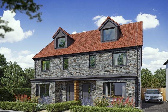 Thumbnail Semi-detached house for sale in Bishops Road, Claverham, Bristol
