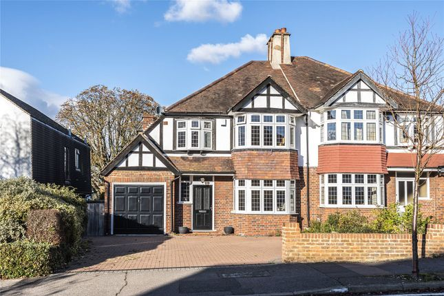 Thumbnail Semi-detached house for sale in Uplands, Beckenham