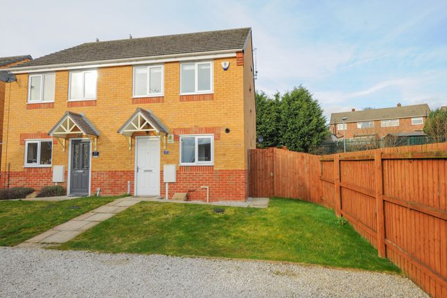 3 bed semi-detached house to rent in Croft House Way, Bolsover, Chesterfield S44