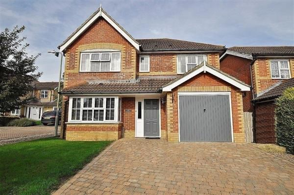 Thumbnail Detached house for sale in John Dutton Way, Kennington, Ashford