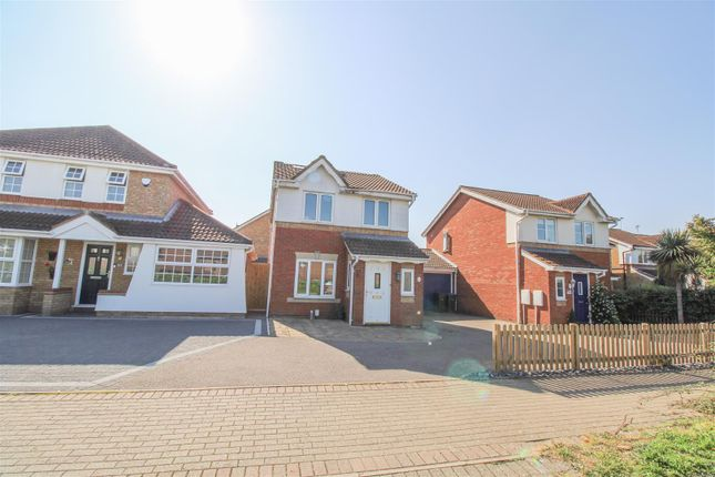 Thumbnail Link-detached house for sale in Heathcote Gardens, Church Langley, Harlow