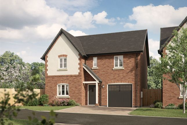 Thumbnail Detached house for sale in Forest Road, Staffordshire, Burton-On-Trent