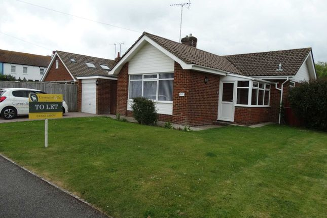 Thumbnail Detached bungalow to rent in Gosford Way, Polegate
