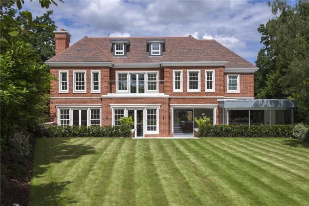 Thumbnail Detached house for sale in Coombe Hill Road, Kingston Upon Thames, London