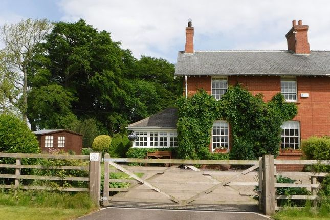 Thumbnail Semi-detached house for sale in West House, Milbourne, Newcastle Upon Tyne
