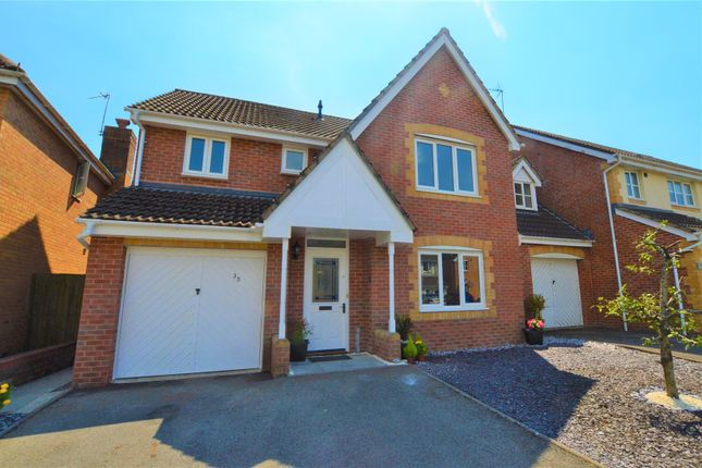 Thumbnail Detached house for sale in St. Peters Avenue, Llanharan, Pontyclun