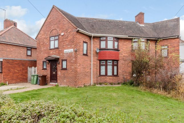 Thumbnail Semi-detached house for sale in Markyate Road, Dagenham, Essex
