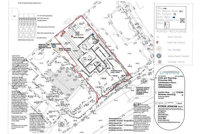 Thumbnail Land for sale in Primrose Hill, Llanbadarn Fawr, Aberystwyth