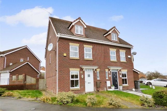 Thumbnail Semi-detached house for sale in Emerald Way, Baddeley Green, Stoke-On-Trent