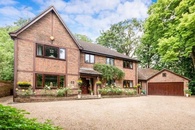 Thumbnail Detached house for sale in Cliddesden Road, Basingstoke, Hampshire