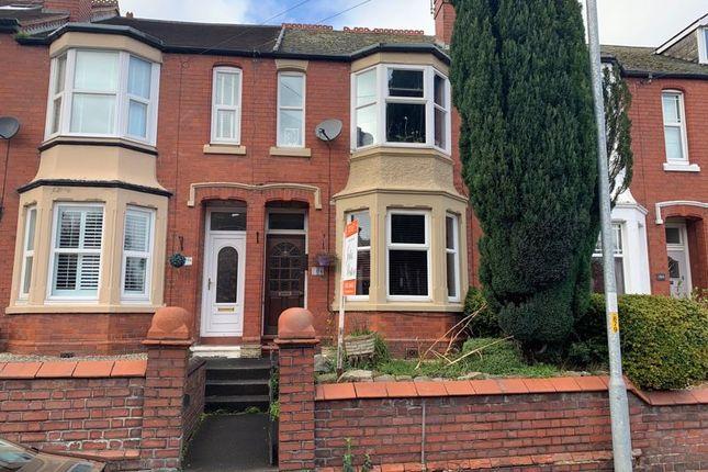 Thumbnail Terraced house to rent in Wrekin Road, Wellington, Telford