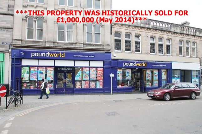 Thumbnail Property for sale in 79-83, High Street, Let Poundworld Investment, Elgin IV301Ea