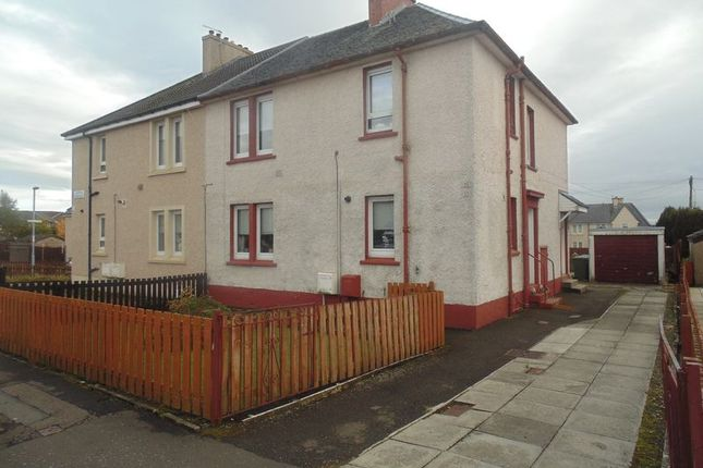 Thumbnail Flat for sale in Stenton Crescent, Wishaw