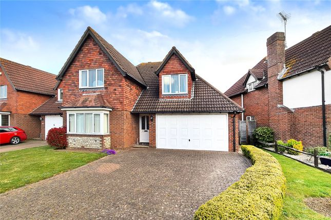 Thumbnail Detached house for sale in Windsor Drive, Rustington, West Sussex