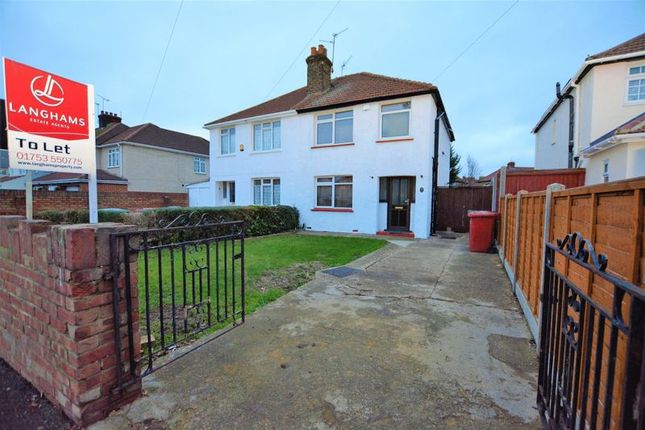 Thumbnail Semi-detached house to rent in Furnival Avenue, Slough