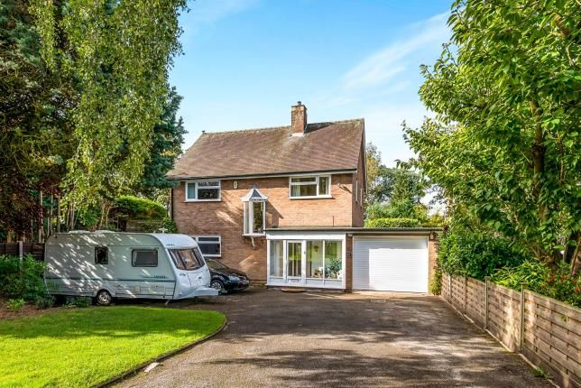 Thumbnail Detached house for sale in Knowle Road, Weeping Cross, Stafford, Staffordshire