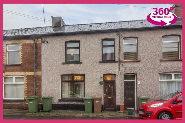 Thumbnail Terraced house for sale in Trafalgar Street, Risca, Newport