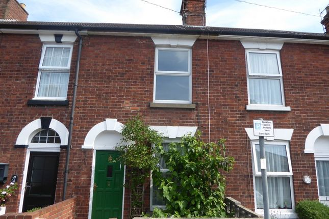 Thumbnail Terraced house to rent in Queens Road, Beccles