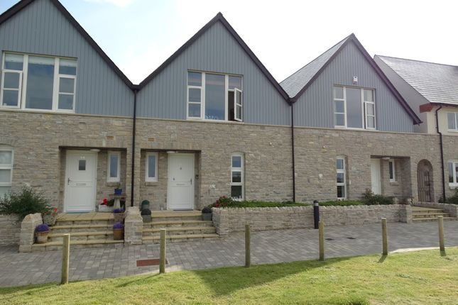 Thumbnail Terraced house for sale in Lubbecke Way, Dorchester