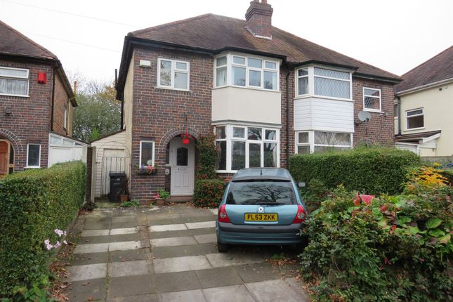 Thumbnail Semi-detached house for sale in Shirley Road, Acocks Green, Birmingham