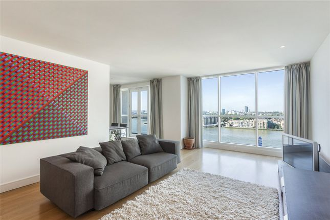 Thumbnail Flat to rent in Eaton House, 38 Westferry Circus, London
