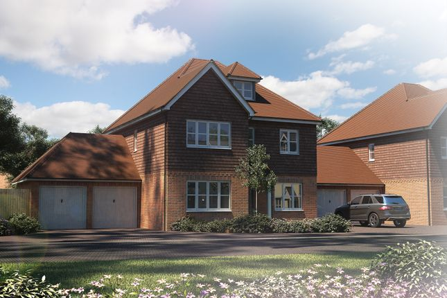 """Thumbnail Detached house for sale in """"The Bewick"""" at Tile Barn Row, Woolton Hill, Newbury"""