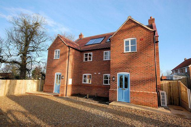 Thumbnail Semi-detached house to rent in Melton Mews, Briston Road, Melton Constable