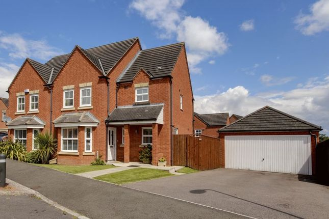 Thumbnail Detached house for sale in Ffordd Camlas, Rogerstone, Newport