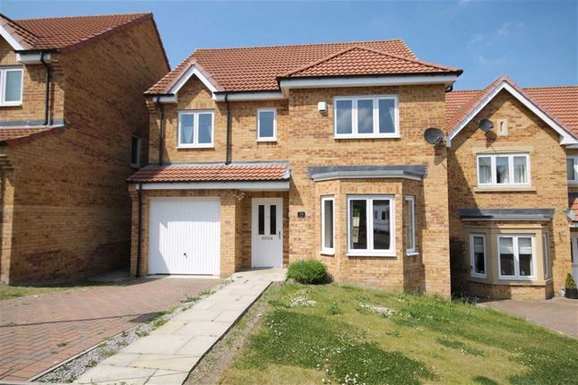 Thumbnail Detached house to rent in Kipling Way, Crook, Co Durham