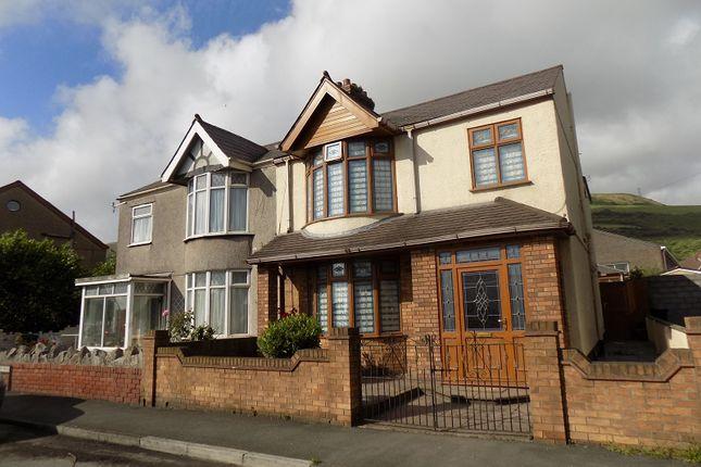 Thumbnail Semi-detached house for sale in Beechwood Road, Margam, Port Talbot, Neath Port Talbot.