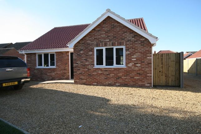 Thumbnail Detached bungalow for sale in Woodside Park, Attleborough